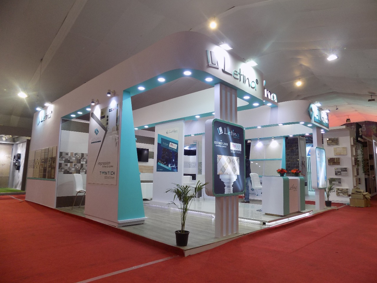 Standard Exhibition Stall : Stall fabricators exhibition design agency booth