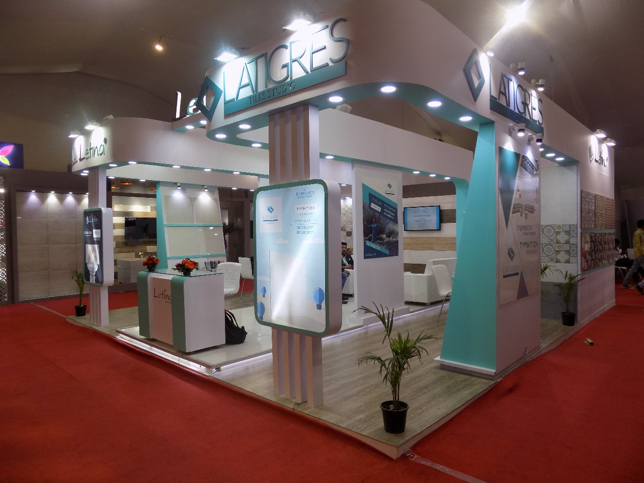 Exhibition Stall Fabricators In Nagpur : Stall fabricators exhibition design agency booth