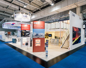 Exhibition Stall Installation : Stall fabricators exhibition stall design agency booth contractor